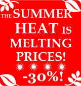 The summer heat is melting prices!